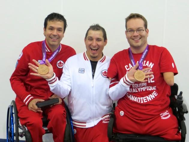 Catégorie : Double BC4 Jeux Paralympiques London 2012