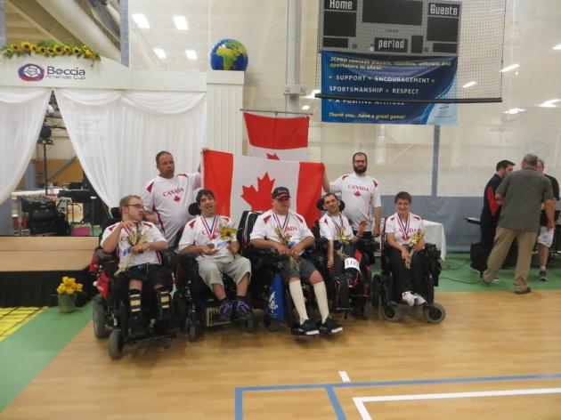 Team BC1/BC2 médaillé de bronze