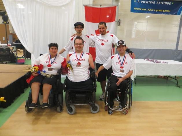 Médaillé de bronze le double BC4
