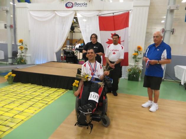 Hanif Mawji médaillé de bronze BC1